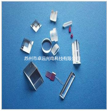 Sapphire shaped components